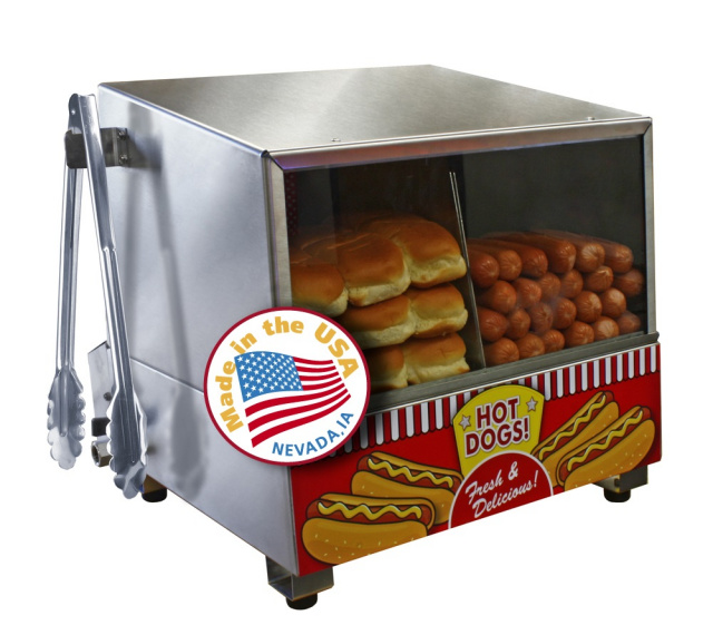 Commercial Hot Dog Steamers and Machines