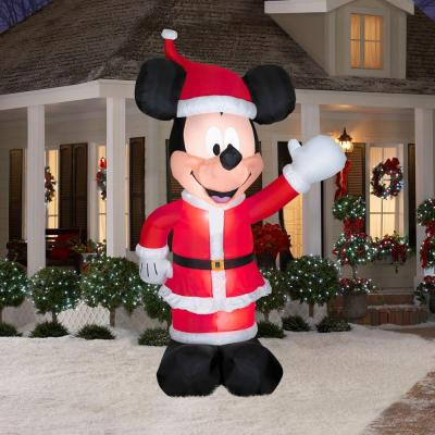 11 foot mickey greeter christmas inflatable view images