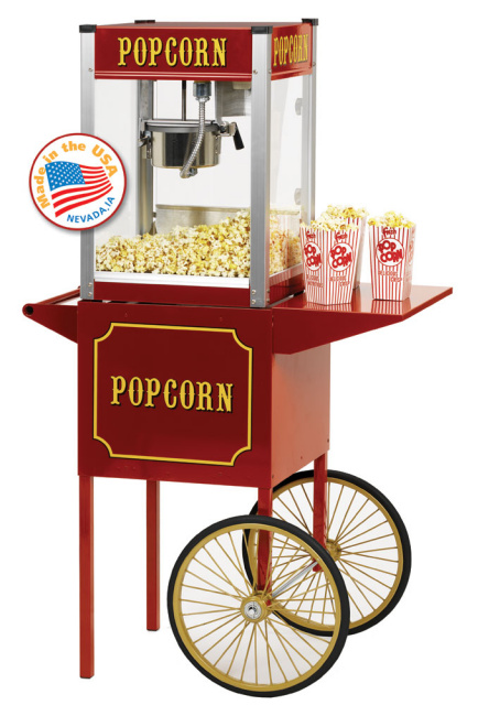 Popcorn Cart For Paragon Tp 4 And 1911 4 Popcorn Poppers