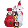 Animated Large Cookie Jar Holiday Inflatable