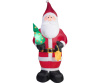 Projection Kaleidoscope Old World Santa Christmas Inflatable