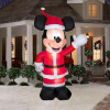 11 Foot Mickey Greeter Christmas Inflatable