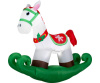 Rocking Horse Holiday Inflatable