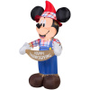 Harvest Mickey Scarecrow Thanksgiving Inflatable