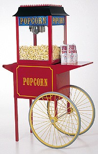Paragon Popcorn Cart for 4 oz Popcorn Machines