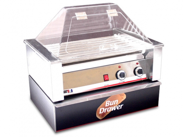 Bun Boxes for Hot Dog Roller Grill - 20