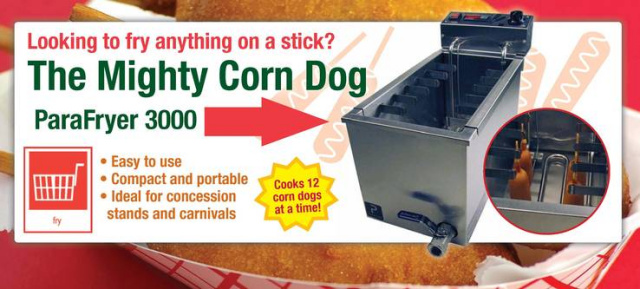Paragon Corn Dog Fryer