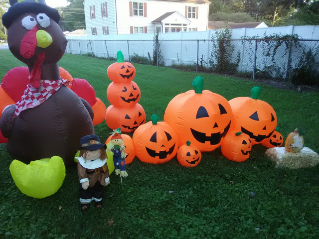 Fall Inflatables