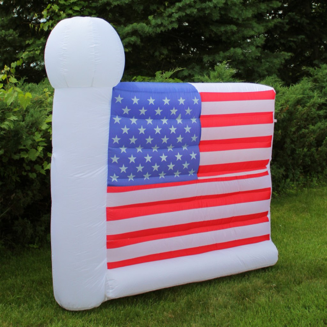 Amercian Flag Patriotic Inflatable