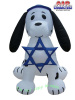 Dalmation Puppy Dog Hanukkah Inflatable