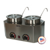Paragon Pro Deluxe Dual Unit Warmer with Ladle