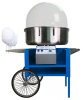 Paragon Blue Deep Cotton Candy Cart