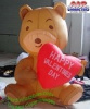 Teddy Bear Valentines Inflatable