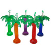 16 oz. Palm Tree Cup with Palm Straw Insert