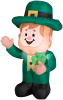 3.5 Foot Airblown St. Patrick's Day Leprechaun  Inflatable