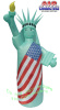 Statute of Liberty Patriotic Inflatable