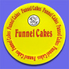 "9"" Funnel Cake Plates"