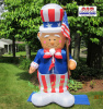 Uncle Sam with Flag Patriotic Inflatable