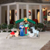 6 Foot Christmas Nativity Scene Inflatable