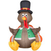 4 Foot Turkey Thanksgiving Inflatable
