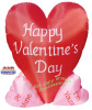 Large Heart Valentines Inflatable