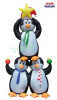 Penguin Pyramid Holiday Inflatable