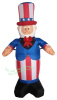 4 Foot Uncle Sam Patriotic Inflatable