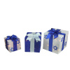 Hanukkah 3 Set Gift Boxes Yard Art Decoration