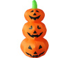 Stacked Pumpkins Battery Operated Harvest Inflatable