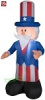 4 Foot Gemmy Uncle Sam Patriotic Inflatable