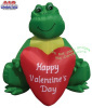6 Foot Frog Valentines In