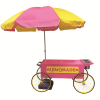 Lemonade Wagon with  Umbrella
