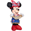 Harvest Minnie Scarecrow Thanksgiving Inflatable
