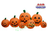 12 Foot Pumpkin Patch Scene Happy Fall Inflatable