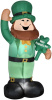 Gemmy 6 Foot Leprechaun St. Patrick's Day Inflatable