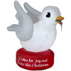 White Dove Holiday Christmas Inflatable