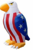 5 Foot Airblown Bald Eagle Patriotic Inflatable