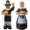 Thanksgiving Pilgrim Couple Inflatable