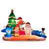 9.5 Island of Misfits Toy Scene Holiday Inflatable