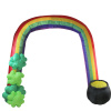 St Patricks Rainbow Arch Inflatable
