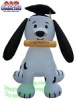 7 Foot Puppy Dog Graduation Airlblown Inflatable