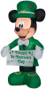 Mickey Mouse St Patrick's Day Inflatable