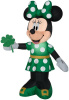 Minnie Mouse St Patrick's Day Inflatable