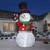 Snowman Family Holiday Inflatable
