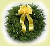A Tribute Christmas wreath